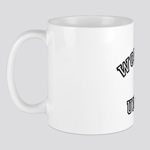 Property of Wonderland University black Mug