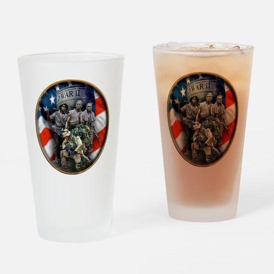 vets 2 Drinking Glass