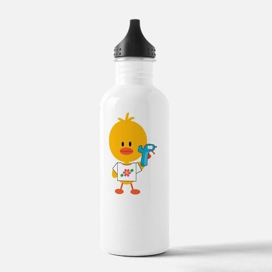 CraftyChickDkT Sports Water Bottle