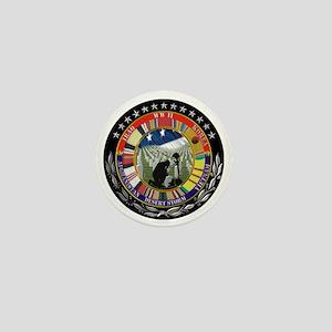 MEMORIAL BLACK Mini Button