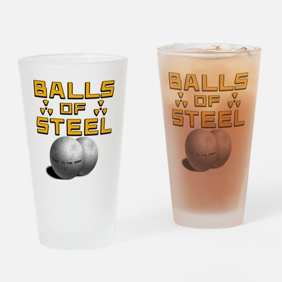 Hail Drinking Glass