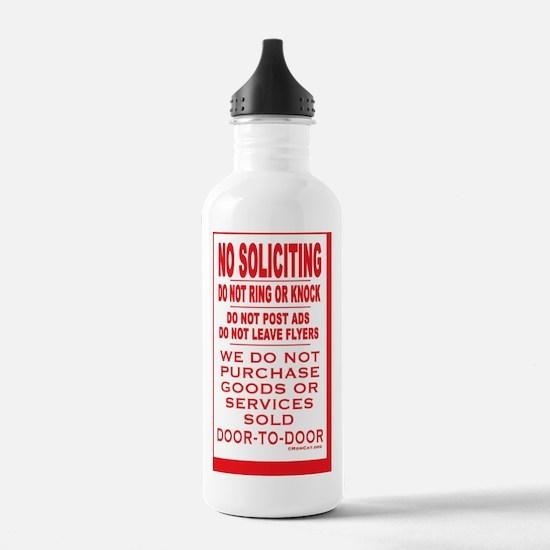 NoSolRecSticker3.5x5.5 Water Bottle