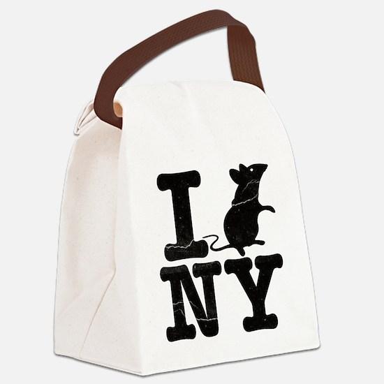 IRatNYeFaded Canvas Lunch Bag