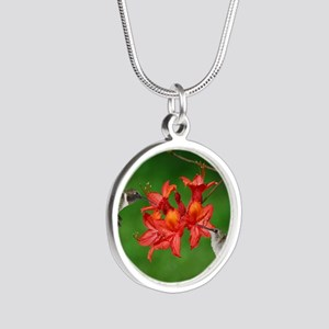 9x12_print 2 Silver Round Necklace