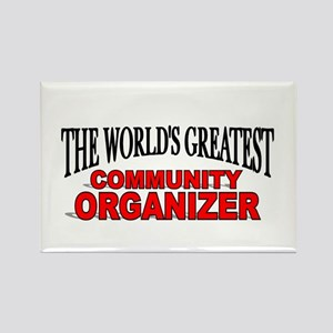 """""""The World's Greatest Community Organizer"""" Rectang"""