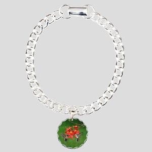 ornament 2 Charm Bracelet, One Charm