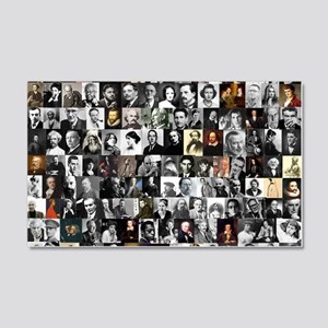 Dead Writer Collage 20x12 Wall Decal