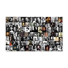 Dead Writer Collage Wall Sticker