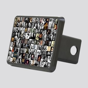 Dead Writer Collage Rectangular Hitch Cover