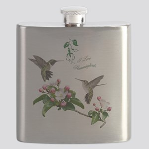 12 X hummingbirds Flask