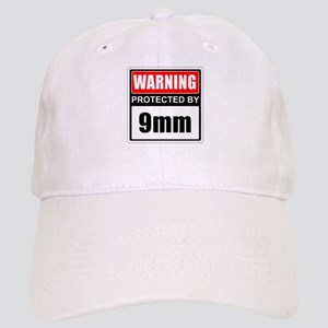 Warning 9mm Baseball Cap