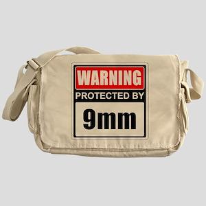 Warning 9mm Messenger Bag