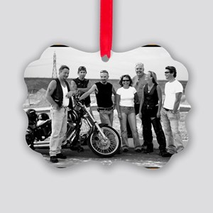the gang Picture Ornament