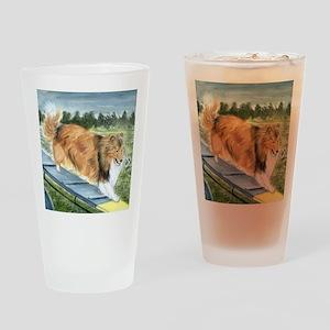 Agility Shetlie Drinking Glass