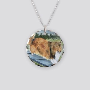 Agility Shetlie Necklace Circle Charm