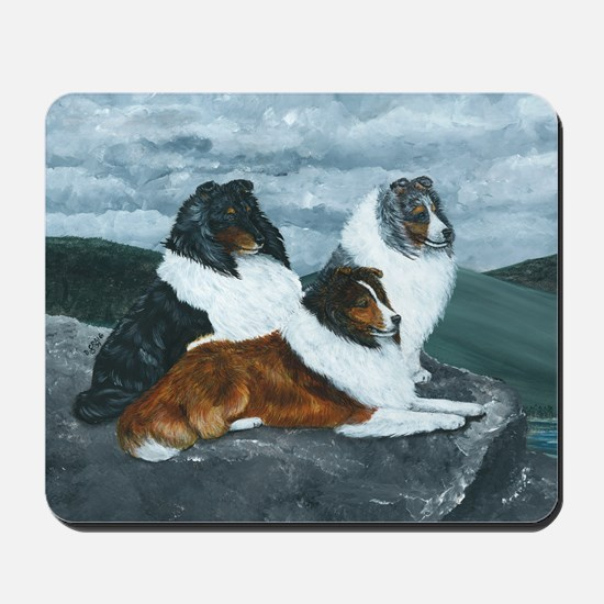 Mountain Mist Sheltie Mousepad