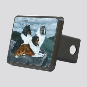 Mountain Mist Sheltie Rectangular Hitch Cover