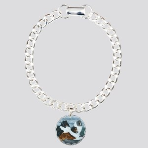 Mountain Mist Sheltie Charm Bracelet, One Charm