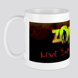 ZOMBIE bumper sticker Mug