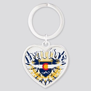 CP_NativeColorado Heart Keychain