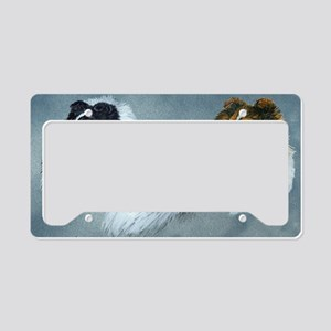 Sheltie Headstudies License Plate Holder