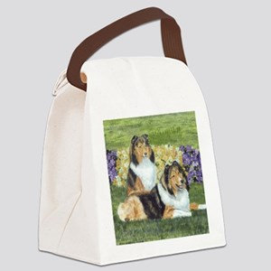 shetlie flower pair Canvas Lunch Bag