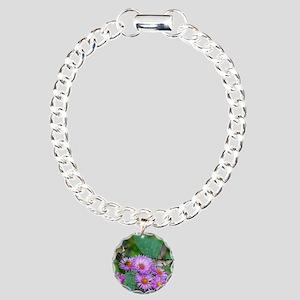 9x7 3 Charm Bracelet, One Charm