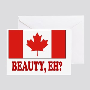 CANADA,BEAUTY EH? Greeting Card