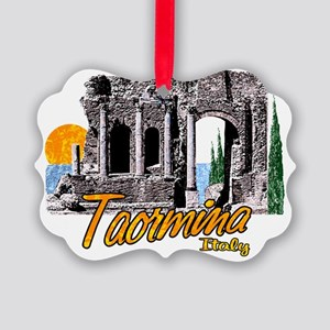 2-taormina_t_shirt_theater Picture Ornament