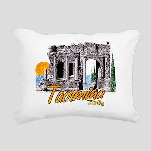 2-taormina_t_shirt_theat Rectangular Canvas Pillow