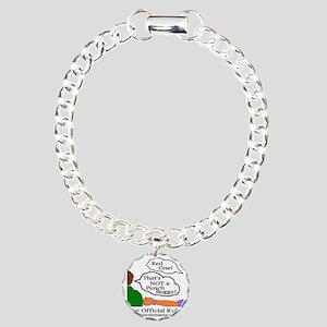 Do-n It Wrong Charm Bracelet, One Charm