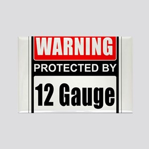 Warning 12 Gauge Magnets
