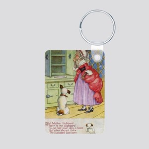 Old Mother Hubbard Vintage Aluminum Photo Keychain