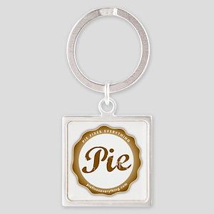 Cafe Press Logo Big Square Keychain