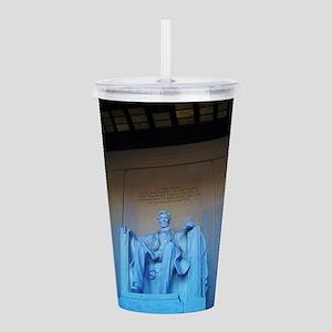 Lincoln Memorial Acrylic Double-wall Tumbler