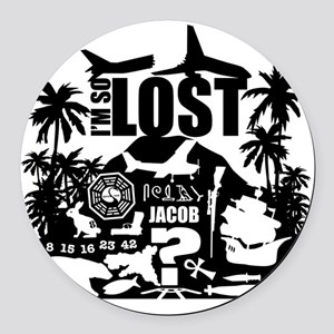 solost Round Car Magnet