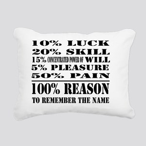remember the name fronto Rectangular Canvas Pillow
