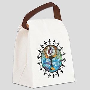 nurture-change better Canvas Lunch Bag