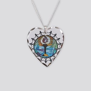 nurture-change better Necklace Heart Charm