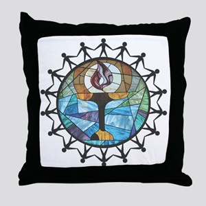 nurture-change better Throw Pillow