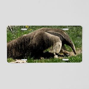 (1) Giant Anteater Aluminum License Plate