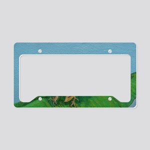 Chameleon License Plate Holder