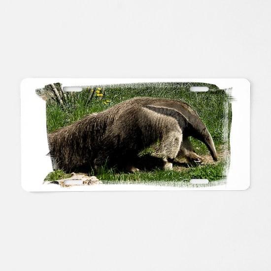 (16) Giant Anteater Aluminum License Plate