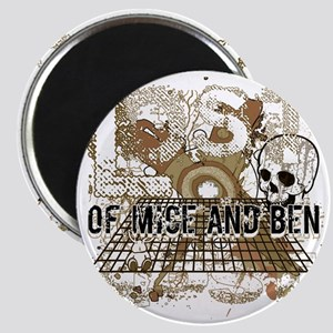 Of Mice and Ben Military Brown Magnet