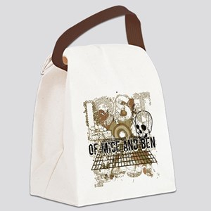 Of Mice and Ben Military Brown Canvas Lunch Bag