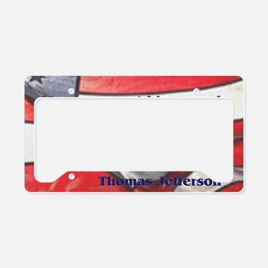 jeffquoteyard License Plate Holder