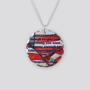 biggovsquare Necklace Circle Charm