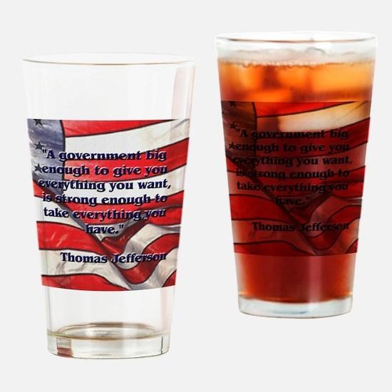 biggovsquare Drinking Glass