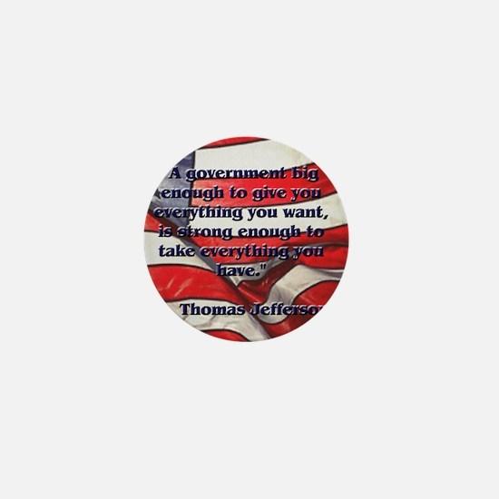 biggovsquare Mini Button