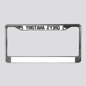 GREYSANATOMYAMBULANCE License Plate Frame